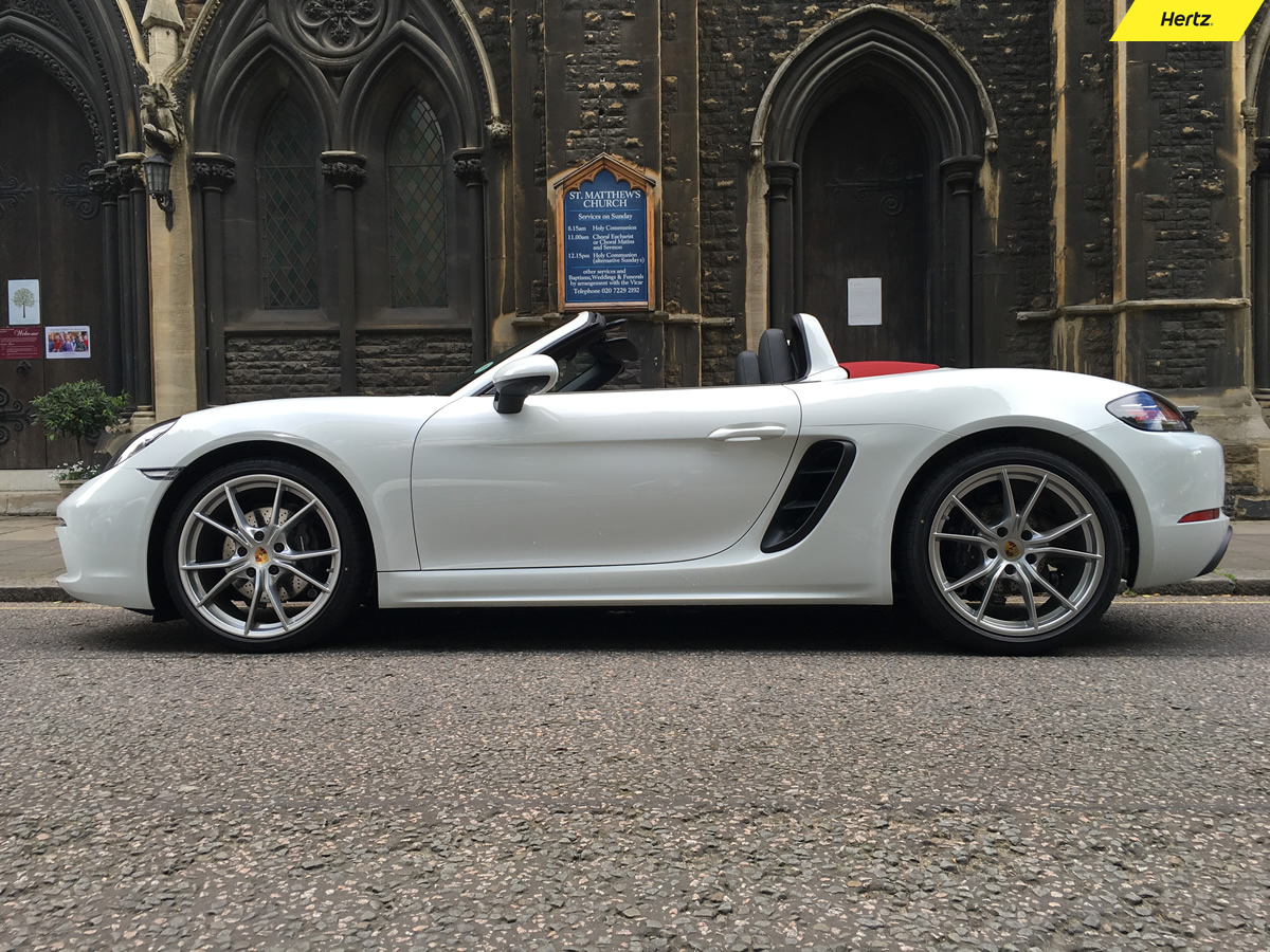 Hire a Porsche Boxster today